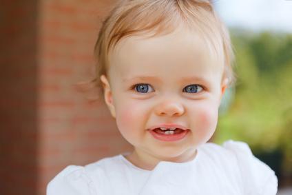 Salud bucodental de un bebé